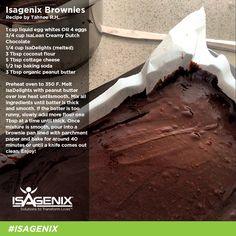 Whey Protein Brownies. Enjoy this recipe and For great motivation, health tips visit us at www.wisenutrition.biz