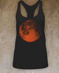 blood moon women's lunar tank