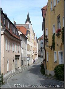 Na região da Bavária, no sul da Alemanha,  há muitas cidades lindas para visitar. Passau é uma delas, também conhecida como Dreiflüssestadt, a cidade dos três  rios, porque reúne o rio Danúbio, com o rio Inn e o rio Ilz, vindo da Floresta Bávara. O encontro dos rios cria uma paisagem encantadora, que vale a pena a vista.