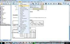 IBM SPSS Statistics Base and Tables Demonstration