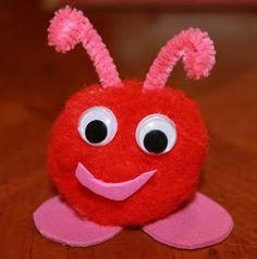 Mom to 2 Posh Lil Divas: Love Bugs - A Valentine Craft & Writing Activity
