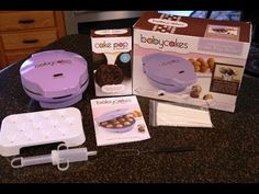 Make 12 cake pops or brownie pops with the Babycakes Cake Pop Maker in just minutes!  Watch our video!   http://youtu.be/d0vMSYhg6bg