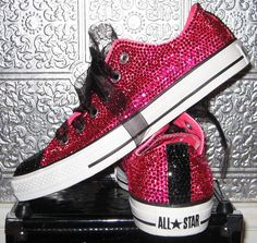 rhinestone chuck taylor converse all star sneakers by STEAMHATTER