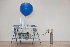 Sending messages via balloon