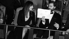 """Dakota and Jamie at Berlinale https://www.pinterest.com/lilyslibrary/ Dakota Johnson and Jamie Dornan"