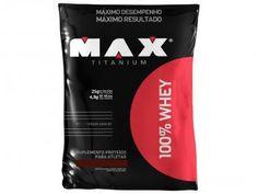 Whey Protein 100% Refil 2Kg - Chocolate - Max Titanium