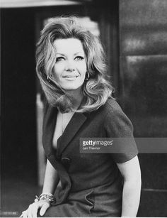Polish-born actress Ingrid Pitt (1937 - 2010), March 1969. She made a name for herself in the horror films of the 1960s and 1970s.