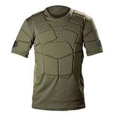 The ultimate in paintball protection, this JT® Tactical Chest Protector takes armor to a new level. This chest protector offers full core protection and the ultimate in comfort and mobility. Utilizing perforated, Thermo-formed high-density, stretch, moisture-wicking padding and specific padding placement, the JT® Tactical Chest Protector combines the best in protection with enhanced comfort.