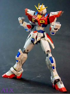 GUNDAM GUY: GUNDAM GUY: READERS FEATURE GUNPLA BUILD - HGBF 1/144 Build Burning Gundam Customized Build by Boy Alexi