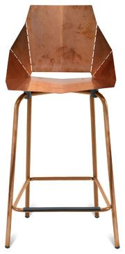 Blu Dot Copper Real Good Counterstool modern-bar-stools-and-counter-stools