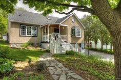Country Living in the City at 48 Parkside Avenue in Dundas, Ontario. Live near terrific Dundas Driving Park and Dundas Conservation Area. Dundas Ontario, Country Living, Conservation, Hamilton, Real Estate, Cabin, Homes, Park, Live
