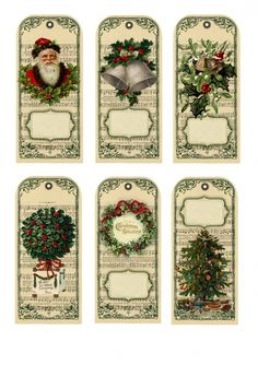 Christmas labels/tags