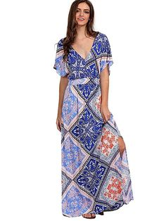 uk10-12 M Pistachio Ladies Printed 3 in 1 Summer Sun Beach Dress// Long Skirt