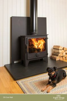 Carlton Stoves supply Dean Stoves based in Heaton Newcastle Upon Tyne. Call into the shop to see our selection of woodburning stoves. Wood Stove Decor, Wood Stove Wall, Wood Stove Chimney, Wood Stove Hearth, Wood Burner, Brick Hearth, Cottage Fireplace, Stove Fireplace, Fireplace Wall