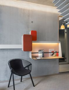 Alias & OKKO Hotels Nantes kobi chair #design Patrick Norguet  photo by Jérôme Galland