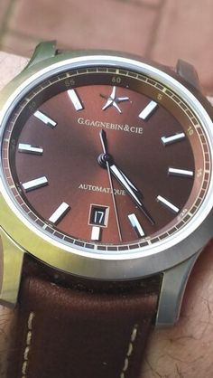 Karaktero Automatic from G.Gagnebin&Cie