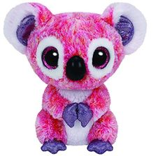 Amazon.com: Ty Beanie Boos KACEY - the Pink Koala - Regular 6 Inch: Toys & Games