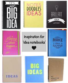 (inspiration for 'idea notebooks'...!)