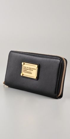 Marc by Marc Jacobs wallet - black or grey/blue