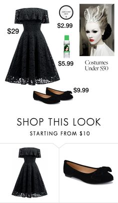 """""""Halloween Beauty on a Budget (contest entry)"""" by scolab ❤ liked on Polyvore featuring Wet n Wild"""