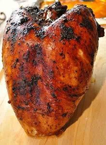 Grilled Roast Turkey Breast