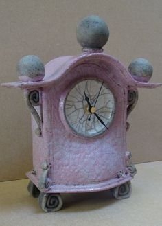 pottery clock - Google Search