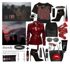 """""""I will give you power, but who can help me now?"""" by nothingisnormal ❤ liked on Polyvore featuring Vivienne Westwood Anglomania, Strange Days, Frédéric Malle, Yves Saint Laurent, rag & bone/JEAN, Magda Butrym, Givenchy, Christian Louboutin, Manic Panic NYC and Rachel Entwistle"""
