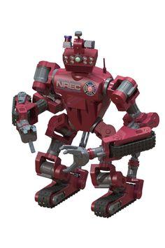 CHIMP - DARPA Robotics Challenge (DRC) from Carnegie Mellon University's National Robotics Engineering Center