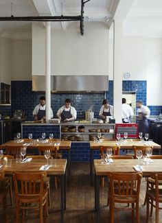 THE CLOVE CLUB - RESTAURANT LONDON - Cuisine Ouverte