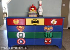 justice league room - Google Search