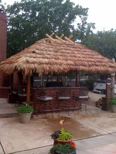 Thatching For Diy Build Your Own Tiki Huts And Bars