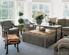 Oversized Tufted Ottoman Under Coffee Table Love The Use Of Practical Taller Tail Server