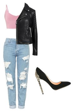 """""""Untitled #22"""" by afcyrani on Polyvore featuring Topshop, Witchery and Cerasella Milano"""