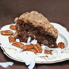 German Chocolate Cake recipe  http://fillmytummy.info/category/chocolate-cake-recipes/