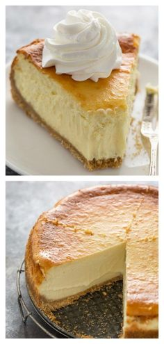 Extra Rich and Creamy Cheesecake is perfect for special occasions! Extra Rich and Creamy Cheesecake is perfect for special occasions!,Backen Extra Rich and Creamy Cheesecake Related posts:Why black is. Mini Cakes, Cupcake Cakes, Cupcakes, Cake Recipes, Dessert Recipes, Sweet Recipes, Salty Cake, Food Cakes, Savoury Cake