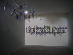 Biennale di Venezia 2013, Padiglione Azerbaijan Cheesy Lines, This Too Shall Pass, Shadow Art, Music Tattoos, Project 3, Conceptual Art, Destruction, 2d, Reflection