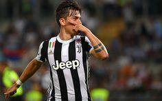 Descargar fondos de pantalla Paulo Dybala, el objetivo, los futbolistas, Juventus de turín, la Juve, Italia, Serie a