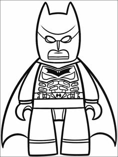 lego batman coloring pages here PrinterKids Lego Batman