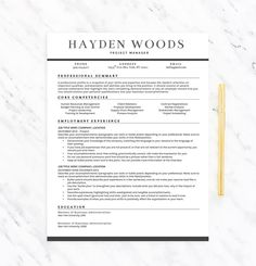 Classy professional resume template for word resume extras classy professional resume template for word resume extras template instant download resume templates that standout pinterest yelopaper Choice Image