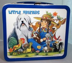Unused Near Mint 1982 Little Friends Lunchbox 7 Thermos with Aladdin Proof Sheet | eBay