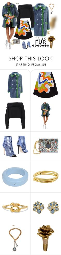 """""""FFF - Faux Fur Fashion - remix!"""" by riquee ❤ liked on Polyvore featuring Shrimps, VIVETTA, Lemaire, Grey Mer, Jimmy Choo, MM6 Maison Margiela, Karen Kane, Kenneth Jay Lane, Temple St. Clair and Betsey Johnson"""
