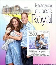 Togo, St. Thomas, Niger, Samoa and Gibraltar have joined Isle of Man, Guernsey, Australia, New Zealand and Canada in issuing stamps to honor of the arrival of Prince George. To order the stamps, please visit the respective country's post office online, check eBay, or buy from a reputable third party stamp dealer: