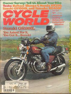 1979 Suzuki GS1000L – you asked for it, you got it…Suzuki