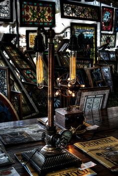 Steampunk Lamp by brockney52, via Flickr