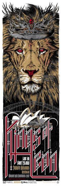 Rhys Cooper Pearl Jam, Blink 182 & Refused Posters on sale
