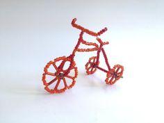 Fahrrad aus Perlen. Ungewöhnliche Geschenke. - YouTube