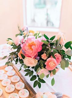 Pink Floral Baby Shower - Inspired by This