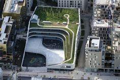 [건축] 친환경 프랑스 초등학교 & 체육관 건축디자인 Primary School For Sciences And Biodiversity : 네이버 블로그