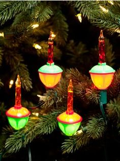 We had some of these on our tree every year.