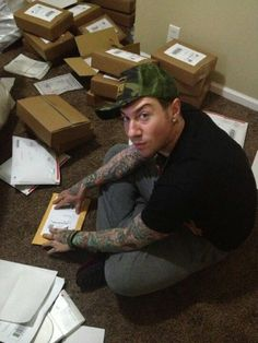 Zacky Vengeance hard at work for Vengeance University